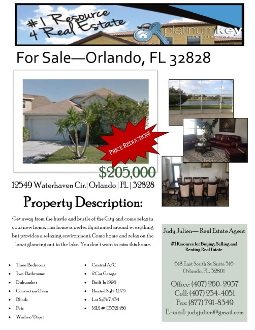12549 Waterhaven Price Reduction