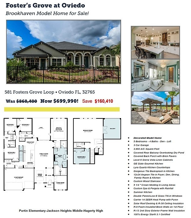 Awe Inspiring 150K In Savings On Model Homes Oviedo Platinum Key Download Free Architecture Designs Ferenbritishbridgeorg